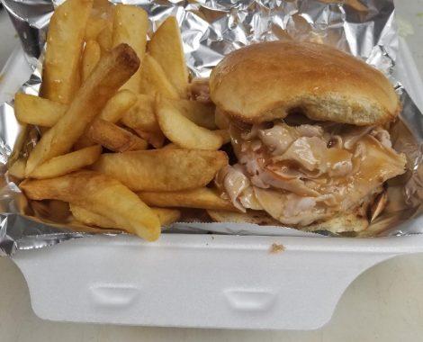 Turkey with Gravy Hot Sandwich