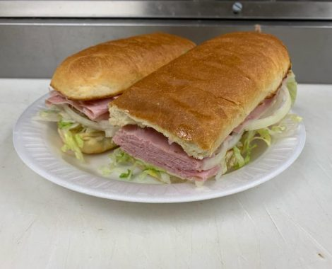 Ham Cold Cut Submarine 1