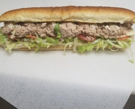 Tuna Cold Cut Submarine