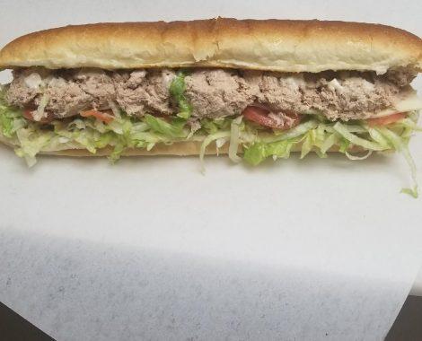 Tuna Cold Cut Submarine