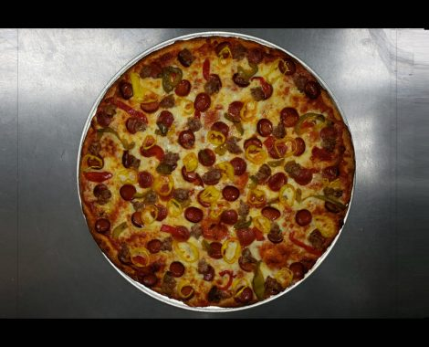 Pepperoni, Sausage & Hot Peppers